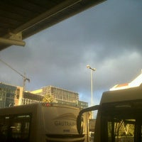 Photo taken at Gautrain Rosebank Station by Hannes N. on 8/7/2012