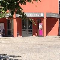 "Photo taken at Biblioteca ""Renzo Renzi"" by Tiziana on 8/28/2012"