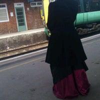 Photo taken at Horsham Railway Station (HRH) by Martin K. on 4/14/2012