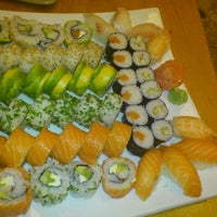 Photo taken at Sushi House by Jose B. on 7/1/2012