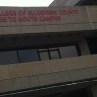 Photo taken at CCAC South Campus by Blair S. on 7/11/2012
