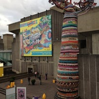 Photo taken at Hayward Gallery by Marcelo A. on 8/1/2012