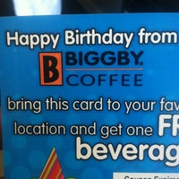 Photo taken at BIGGBY COFFEE by Andrew S. on 6/12/2012