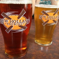 Photo taken at New Holland Brewing Company by Tim H. on 6/9/2012