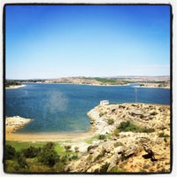 Photo taken at Mar de Aragon by elarnesss on 7/14/2012