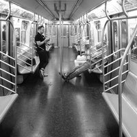 Photo taken at MTA Subway - L Train by S. Zachariah S. on 6/2/2012