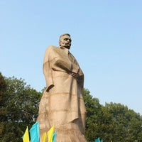 Photo taken at Пам'ятник Івану Франку / Ivan Franko Monument by Kyrylo C. on 9/5/2012