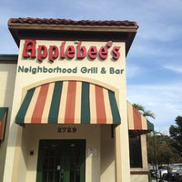 Photo taken at Applebee's Neighborhood Grill & Bar by John F. on 2/18/2012