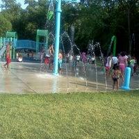 Photo taken at Rockefeller Park by Dorjan S. on 6/19/2012