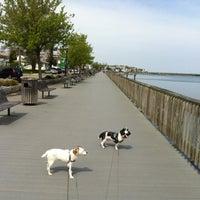 Photo taken at North Beach Boardwalk by Sebastian B. on 4/4/2012