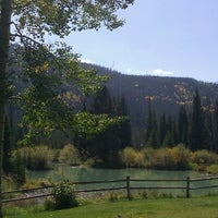Photo taken at Ski Tip Lodge by Julie G. on 9/13/2012