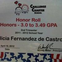 Photo taken at Challenge School, Inc. by Dr Julian Hillel W. on 4/19/2012