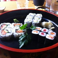 Photo taken at Sushi all'Osteria Tsuru by Mariella T. on 7/7/2012