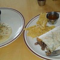 Photo taken at El Steak Burrito Taqueria Y Pupuseria by Demont D. on 8/1/2012
