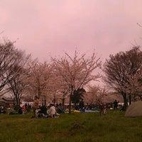 Photo taken at Toneri Park by kaito5ex on 4/7/2012