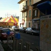 Photo taken at Vélo Bleu (Station No. 31) by Iarla B. on 3/11/2012