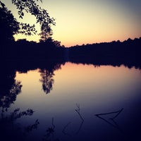 Photo taken at Trap Pond State Park by Ty C. on 6/3/2012