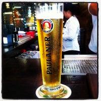Photo taken at Brotzeit German Bier Bar & Restaurant by Esh R. on 5/1/2012