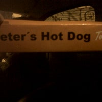Photo taken at Peter's Hot Dogs by Silvia S. on 8/26/2012
