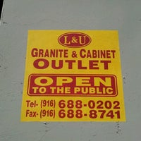 Photo Taken At Lamp U Granite Amp Cabinet Outlet By