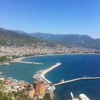 8/30/2012 tarihinde Özge D.ziyaretçi tarafından Alanya Kalesi'de çekilen fotoğraf