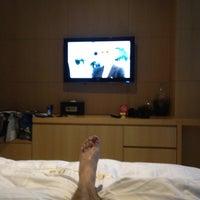 Photo taken at Hotel MATTHIEU Yeosu by Morgion on 7/17/2012