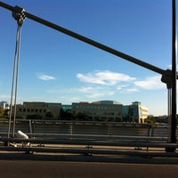 Photo taken at North Ave. Bridge by Jennifer B. on 9/11/2012