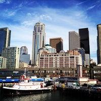 Photo taken at Seattle Ferry Terminal by Rick B. on 2/5/2012