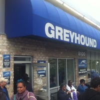 Photo taken at Greyhound Bus Lines by Hernan V. on 4/1/2012