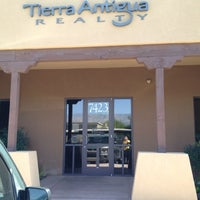 Photo taken at Tierra Antigua Realty by Alan F. on 5/25/2012