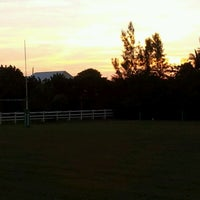 Photo taken at Cayman Islands Rugby Club by Jeffrey R. on 2/25/2012