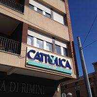 Photo taken at Cattolica Assicurazioni Agenzia Rimini Tomassetti by Emanuela T. on 2/27/2012