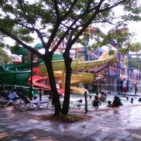 Photo taken at Waterbom Jakarta by moch r. on 6/28/2012