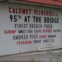 Foto tomada en Calumet Fisheries por Mallory G. el 5/26/2012
