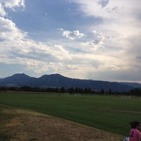 Photo taken at Pleasant View Sports Complex by Bret B. on 6/25/2012