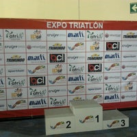 Photo taken at Expo Triatlon WTC by Mark マーク N. on 8/5/2012