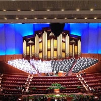 Photo taken at LDS Conference Center by Jake W. on 4/1/2012