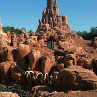 Photo taken at Big Thunder Mountain Railroad by Geary G. on 8/21/2012