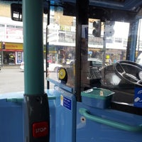 Photo taken at Hounslow bus station bus stop B by Kathy M. on 8/1/2012