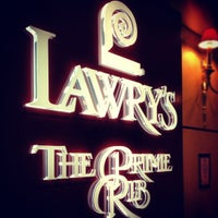 Photo taken at Lawry's The Prime Rib by Shaun S. on 5/31/2012