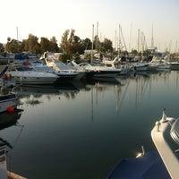 Photo taken at Larnaca Marina by Olga🍉 on 4/3/2012