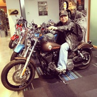 Photo taken at Trev Deeley Motorcycles by Mike B. on 3/4/2012