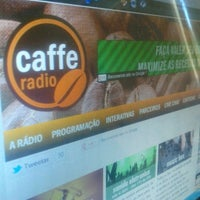 Photo taken at Radio Caffe Mais Floripa www.radiocaffe.com.br by Paulo C. on 6/1/2012