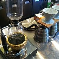 Photo taken at Bench Espresso by Simon B. on 6/25/2012
