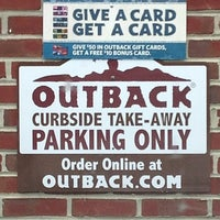 Photo taken at Outback Steakhouse by Rodney S. on 5/6/2012