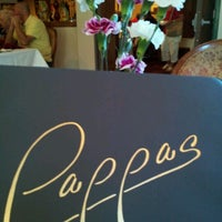 Photo taken at Pappas Restaurant by Michael B. on 7/25/2012