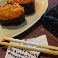Photo taken at Masa's Sushi by Stephen T. on 5/29/2012