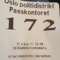 Photo taken at Politihuset by Hans Petter F. on 9/4/2012