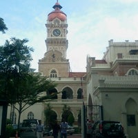 Photo taken at Bangunan Sultan Abdul Samad by Mohd Naharol H. on 7/16/2012