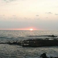 Photo taken at La'Aloa Bay Beach (White Sands Beach Park) by Shawn S. on 9/4/2012